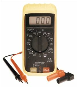 Rel Products Inc Atd 5544 Digital Pocket Multimeter With Protective Holster