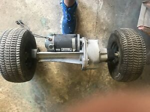 Drive Gearbox And Motor Advance Warrior St Automatic Floor Scrubber Imperial El