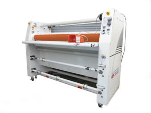 Gbc Pro Tech F60 Laminator Hot Cold 62 Wide Roll Laminating Large Industrial