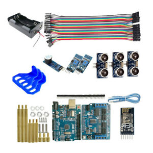 Wifi Ultrasonic Obstacle Avoidance Sensor Uno R3 Control Kit For Arduino