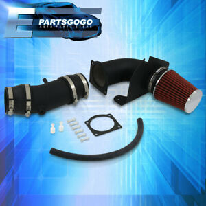 For 94 95 Mustang 5 0 V8 Performance Cold Air Induction Intake Filter System Blk