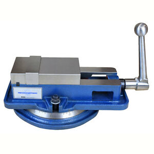 4 Inch High Precision Milling Vise W swivel Base Knee Mill Or Bench Mill