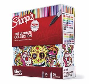 Sharpie Permanent Markers Ultimate Cosmic Color Collection Fine And Ultra Fine
