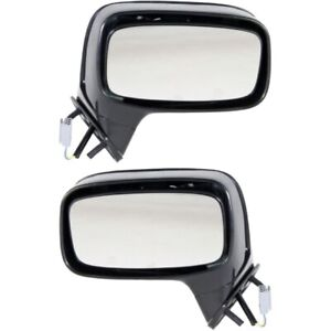 New Mirrors Set Of 2 Driver And Passenger Side Sedan Fo1321257 Fo1320260 Pair