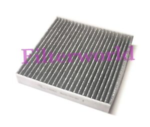 Carbonized Cabin Air Filter For New Honda Civic Crv Fit Hrv Odyssey Fast Ship