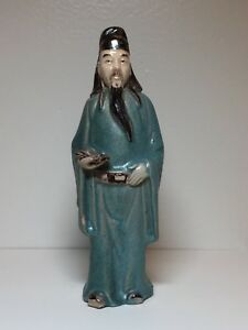 Antique Chinese Mudman Immortal Gau Guojiu 6 5 Mud Man