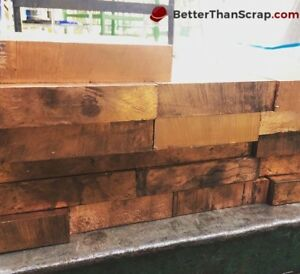 Copper 642 Plate 1 Thick X 10 375 Wide X 10 75 Long