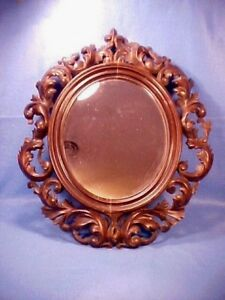 Old Wonderful Rococo Revival 1840 60 John Henry Belter Quality Carved Wood Frame