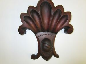 Victorian Hand Carved Solid Walnut Ornamentation 4