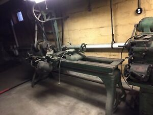 Early Jones Lamson Lathe Antique Machine Shop