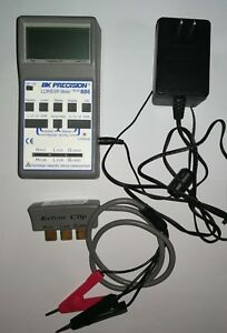 Bk Precision 886 Synthesized In circuit Lcr esr Meter With Kelvin Clip Probe