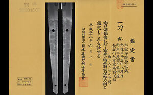 Japanese Samurai Sword Katana Edo Period With 3 Body Test Cut Nbthk Tokubetsu