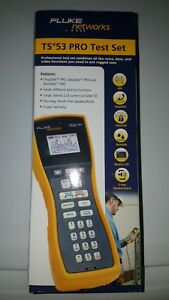 Fluke Ts53 Pro Test Set Abn Nib ts52 Pro Updated Model Ts53 a 09