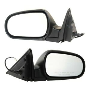 Set Of 2 Mirror Power For 1997 2001 Honda Prelude Left And Right Paintable