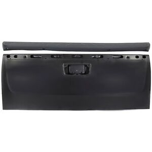 Tailgate Kit For 2007 2013 Chevy Silverado 1500 2pc Primed With Tailgate Molding