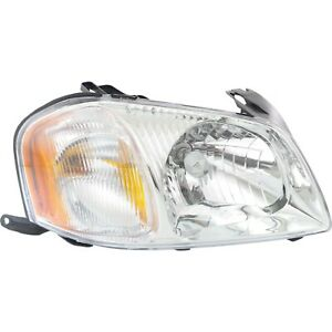 Headlight For 2001 2002 2003 2004 Mazda Tribute Right With Bulb