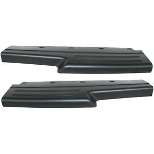 Bumper Step Pad Set For 2002 2007 Jeep Liberty Rear Plastic 2 pcs