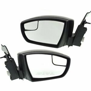Kool Vue Power Mirror Pair For 2013 2016 Ford Escape Paint To Match Folding