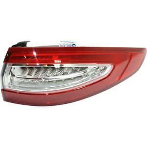Tail Light For 2013 2016 Ford Fusion Passenger Side