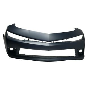 Bumper Cover For 2014 15 Chevrolet Camaro Ss Convertible Coupe With Rs Pkg Front