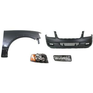 Bumper Cover Kit For 2004 2006 Expedition Front 4pc
