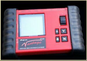 Snap on Vantage Diagnostic Automotive Power Graphing Meter Mt2400