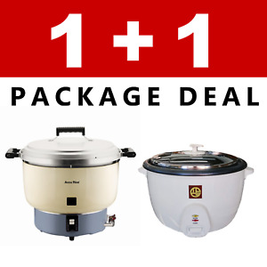 Pantin Commercial Restaurant 110 Cup Gas 50 Cup Electric Rice Cooker Nsf