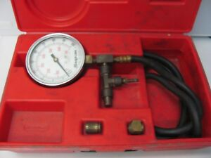 Snap On Tools Fuel Injection Pressure Guage Set Mt337a