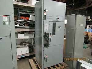New Asco 7000 Series 7atb 200 A 480 V Automatic Transfer Switch