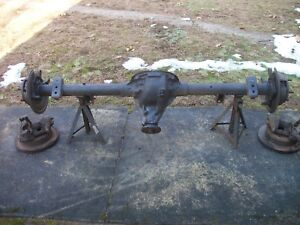 2003 Dodge Ram 1500 Van Rear Axle Assembly 8 25 Inch 3 55 Ratio W disc Brakes
