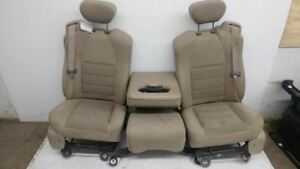 Ford Super Duty Seats Super Cap F250 F350 F450 Center Jump Console Tan Cloth