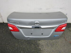 Dp90121 Nissan Sentra 2013 2014 2015 Trunk Lid With Tail Light Oem