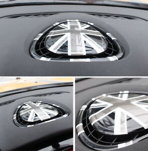 For Mini Cooper F54 F55 F56 Black Union Jack Inter Center Air Con Outlet Cover