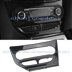 For Ford Focus 2009 14 Carbon Fiber Central Control Air Conditioning Panel Cover