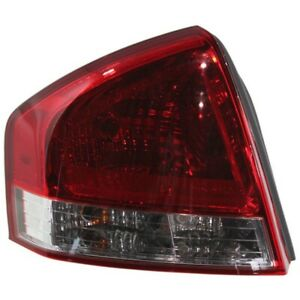 Tail Light For 2009 Kia Spectra Driver Side