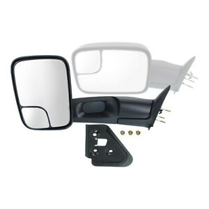 Towing Mirror For 1994 2001 Dodge Ram 1500 1994 2002 Ram 2500 3500 Front Left