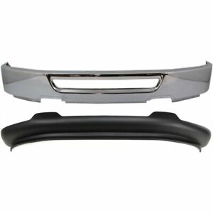 New Bumper Face Bar Kit Front Chrome F150 Truck Ford F 150 Fo1002400 Fo1093107