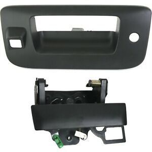 Tailgate Handle For 2007 2013 Gmc Sierra 1500 With Keyhole Set Of 2 Primed