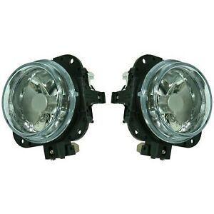 New Set Of 2 Fog Lights Lamps Driver Passenger Side Ma2592104 N06651680a Pair