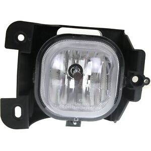 Clear Lens Fog Light For 2004 05 Ford Ranger Lh Plastic Lens W Bulb