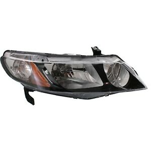 Headlight For 2006 2007 2008 2009 2010 2011 Honda Civic Sedan Right