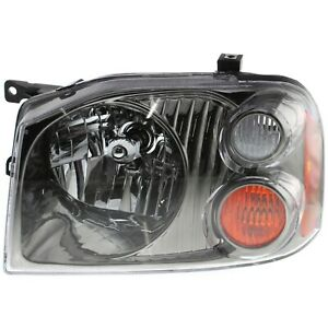Headlight For 2001 2004 Nissan Frontier Sc Se Sve Models Left With Bulb