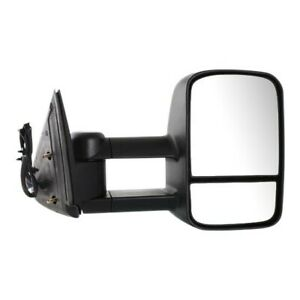 Power Towing Mirror For 03 06 Chevy Silverado 1500 Rh Manual Fold Textured Black