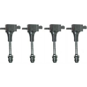 Ignition Coil For 2002 2006 Nissan Sentra Set Of 4