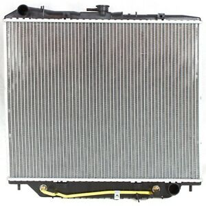 Radiator For 92 02 Isuzu Trooper 96 99 Acura Slx 1 Row
