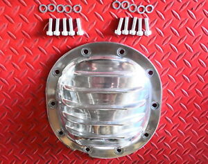 Rear End Cover Polished Aluminum Camaro Firebird S 10 Astro Differential 7 5 Gm