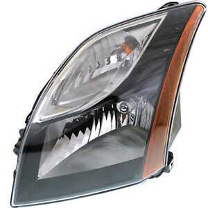 Headlight For 2010 2012 Nissan Sentra Sr Se R Spec V Models Left With Bulb Capa