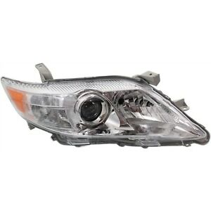 Headlight For 2010 2011 Toyota Camry Se Le Xle Japan Built Right Chrome Housing