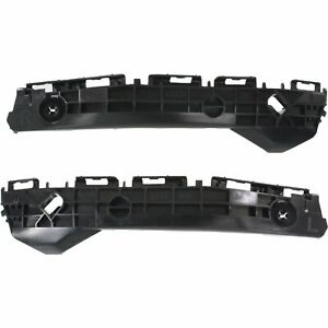 Bumper Retainer Set For 2012 2014 Toyota Yaris Cover Rear Plastic 2 Pcs