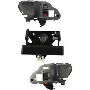 Tailgate Handle Kit For 95 98 Chevrolet K1500 95 2000 K2500 Front And Rear 3pc
